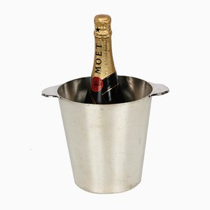 Pierard Ice Bucket Mid-Century in Silver-Plated, France, 1960s
