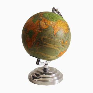 Beleuchteter französischer Globus, 1940er