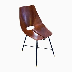 Chairs by Società Compensati Curvati, 1950s, Set of 6