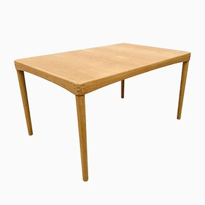Vintage Danish Extendable Oak Dining Table by H.W. Klein for Bramin, 1960s