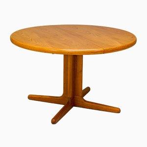 Dänischer Runder Ausziehbarer Tisch