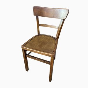 French Bistro Chairs, 1960s, Set of 6