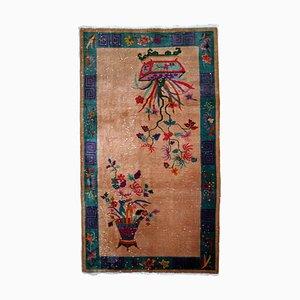 Alfombra china Art Déco, años 20