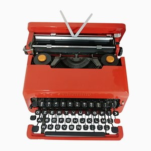 Red Valentine Typewriter by Ettore Sottsass for Olivetti, 1968