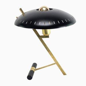 Lámpara de mesa Z-Lampe vintage de Louis C. Kalff para Philips, años 50