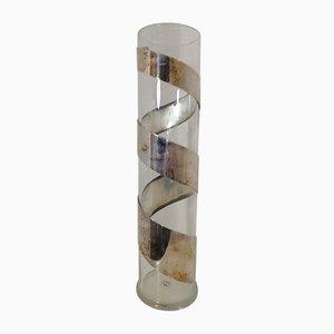 Twirling Spiral Vase von Lino Sabattini, 1960er