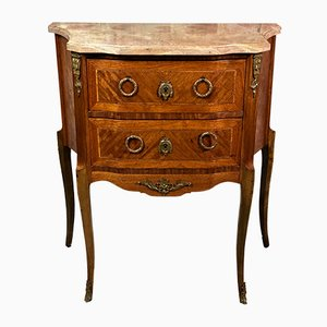 Louis XVI Style Dresser in Marquetry, 1920s