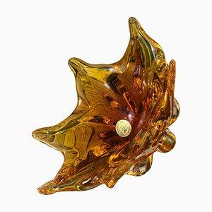 Bowl by Josef Handwid for Chřibská Glassworks, 1960s