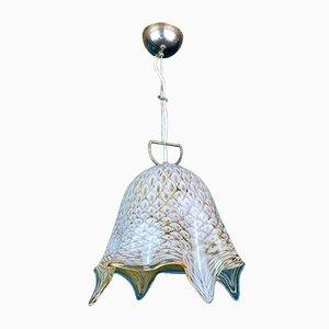 Mid-Century Murano Glass Fazzoletto Pendant Lamp by La Murrina, Italy, 1970s