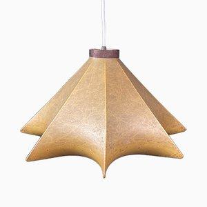 Lámpara colgante Cocoon Mid-Century de Achille Castiglioni para Flos, Italia, años 60