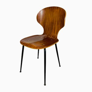 Mid-Century Lulli Dining Chair by Carlo Ratti for ILC Lissone, Italy, 1970s