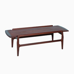 Mid-Century Dutch Coffee Table with Reversible Tabletop, 1960s