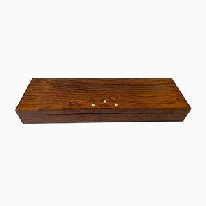 Skandinavische moderne Box aus Palisander von Knud Albert, 1960er