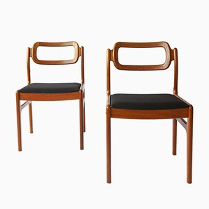 Vintage Chairs by Johannes Andersen, Denmark, Set of 2