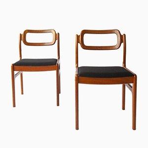 Vintage Stühle von Johannes Andersen, Dänemark, 2er Set