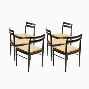 Dänische Esszimmerstühle von H.W. Klein für Bramin Møbler, 1970er, 6er Set