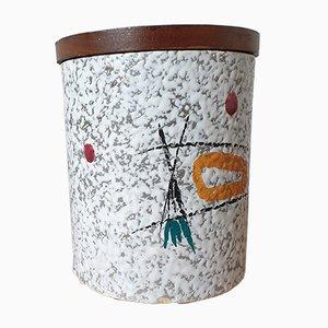 Caja de cerámica holandesa