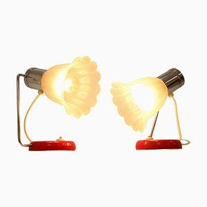 Mid-Century Tischlampen von Drupal, 1960er, 2er Set