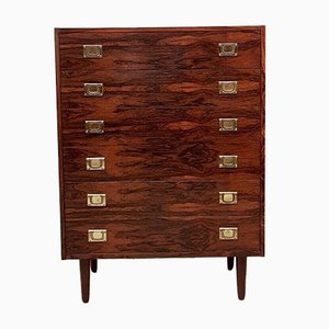 Mid-Century Danish Rosewood Chest of Drawers from Westergaards Møbelfabrik