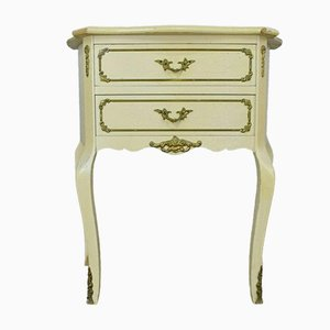 Französischer Antiker Landhausstil Nachttisch