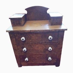 Antique Handmade Salesman Sample Dresser with Porcelain Knobs