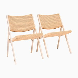 D.270.1 Folding Chairs by Gio Ponti for Molteni & C, Set of 2