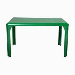 Green Stadio Table by Vico Magistretti for Artemide, 1970s