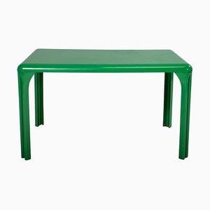 Grüner Stadio Tisch von Vico Magistretti für Artemide, 1970er