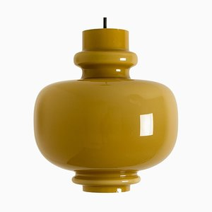 Brown Glass Pendant Light by Hans-Agne Jakobsson for Staff, 1960s
