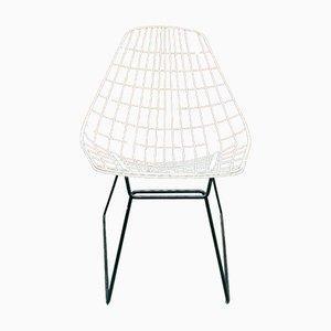 Dänische Vintage Stühle mit Drahtgeflecht von Cees Braakman für Pastoe, 2er Set