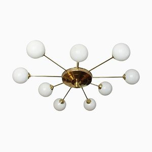 Lámpara de araña de Stilnovo, años 60
