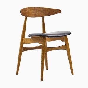 CH33 Stühle von Hans J. Wegner für Carl Hansen & Søn, 10er Set
