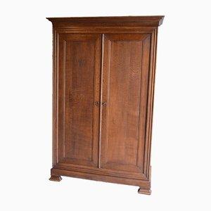 Tight Antique Oak Cabinet