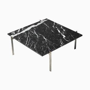 PK61 Coffee Table in Black Marble by Poul Kjærholm