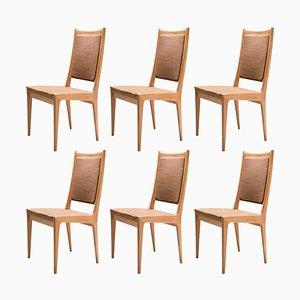 Scandinavian Dining Chairs by Karl Erik Ekselius for JOC, Set of 6