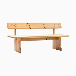 Pine Bench by Carl Malmsten