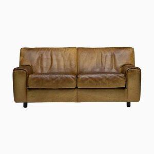 DS-42 2-Sitzer Sofa aus Büffelleder von De Sede