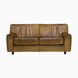 DS-42 Two-Seat Sofa in Buffalo Leather by De Sede