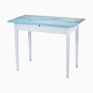 Early 20th Century Swedish Painted Occasional Table
