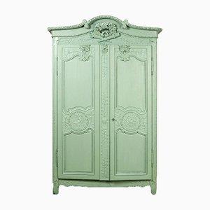 Armadio nuziale verde