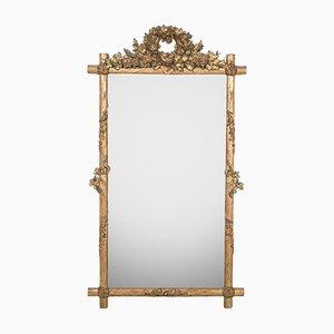Faux Bois Bird's Nest Mirror