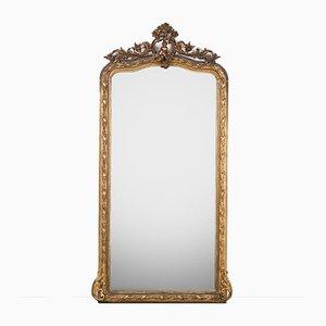 Grand Miroir à Motif Putti