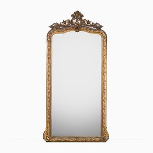 Tall Putti Motif Mirror