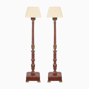 Italian Floor Lamps, Set of 2