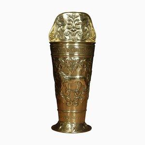 19th Century Brass Umbrella Stand