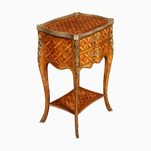 Parquetry and Gilt Metal Mounted Chest