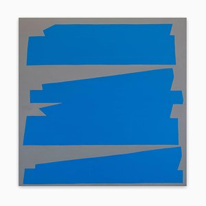 Ulla Pedersen, Cut-Up Canvas I.2, 2017, Acrylic on Canvas