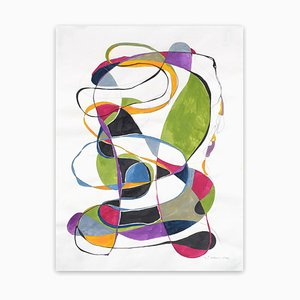 Tracey Adams, Balancing Act 2, 2016, Gouache, Graphite and Ink on Rives Paper