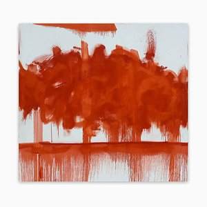 Tommaso Fattovich, Red Cloud, 2020, Mixed Media on Canvas