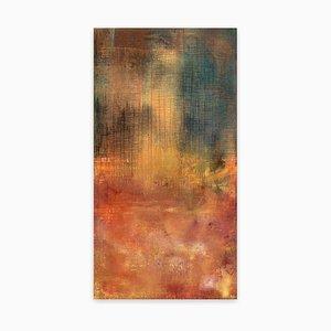 Yari Ostovany, Simorgh Ascending 2, 2019, Oil on Canvas